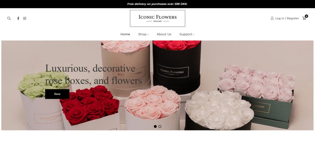 Iconicflowers.dk