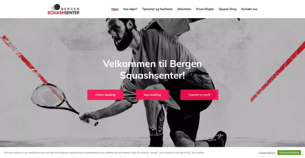Bergensquashsenter.no